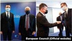 Întâlnirea a fost facilitată de Înaltul Reprezentant Josep Borrell care a fost susținut în acest sens de Miroslav Lajčák