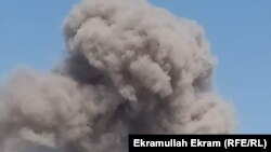 Авганистан- чад од експлозијата на автомобил бомба во провинцијата Нангархар, 3.10.2020