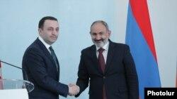 Վրաստանի վարչապետը և Հայաստանի վարչապետի պաշտոնակատարը