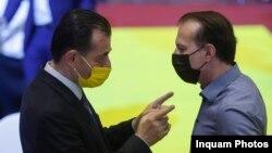 Ludovic Orban și Florin Cîțu sunt adversari pentru funcția de președinte al PNL.