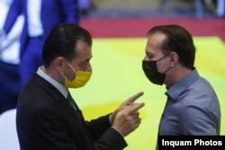 Lodovic Orban și Florin Cîțu.