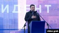 Садыр Жапаров. Бишкек шаары. 11-январь, 2021-жыл.