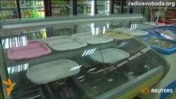 У Слов'янську спорожніли полиці крамниць, а з водою перебої