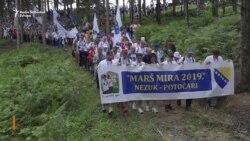 Hiljade ljudi na Maršu mira ka Srebrenici