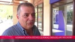 Azərbaycanda biznes qurmaq imkanları necədir?