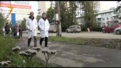 20 сентября 2013 года. Иркутск. Прогулка ученых против реформы РАН