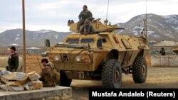 Войници от афганистанската армия, ноември 2020 г.