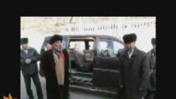 Отец встречает тело сына из Москвы