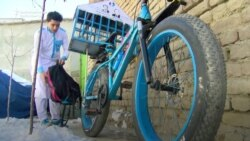 Afghan Book Bike Tour Gets Kids Reading