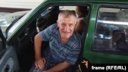 Мужчина из Винницы возвращается домой из Крыма