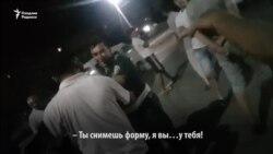 Под Ташкентом майора милиции избили и сорвали с него погоны