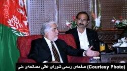 عبدالله عبدالله، رئیس شورای عالی مصالحه ملی افغانستان در سفر به پاکستان