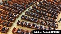 Parlamentul României s-a reunit miercuri pentru votarea moțiunii simple împotriva ministrului Sănătății