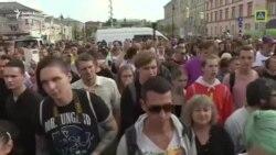 VIDEO Proteste la Moscova înaintea alegerilor locale