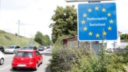Një pikë kufitare me Gjermaninë.