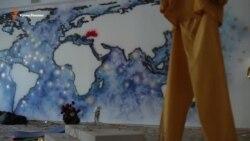 Новая карта мира крымчанки Марии Куликовской (видео)