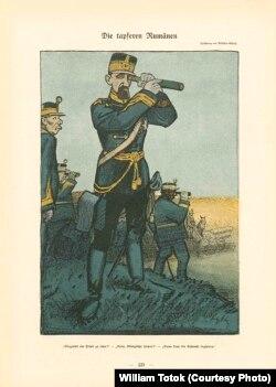 """Regele Ferdinand (""""Simplicissimus"""", anul 18, nr. 19, 1913, p. 320)."""