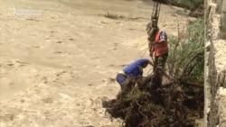 Swollen Kyrgyz Rivers Wash Out Roads And Bridges
