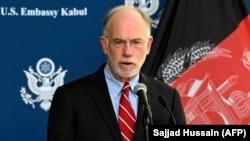 په افغانستان کې د امریکا سفارت شارژدافیر راس وېلسن
