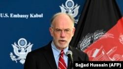 راس ویلسن شارژدافیر و سرپرست سفارت امریکا در کابل