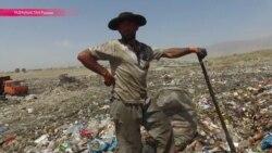 20 га отходов, где пасется скот и роются люди: сюда свозят мусор со всего Душанбе