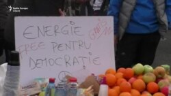 """""""Ne mint în continuare"""". București, a șasea zi de proteste"""