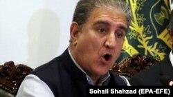 د پاکستان د بهرنیو چارو وزیر شاه محمود قریشي