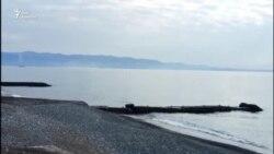 Любительская съемка сухумской бухты