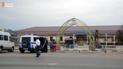 Тревога на автовокзале в Кызылорде