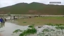 Сель в Туркменистане