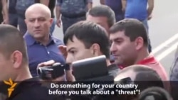 Ереванан полицин хьаькам луьш ву дуьхьалонан акцин декъашхошка