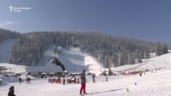 Olimpijske planine u bijelom