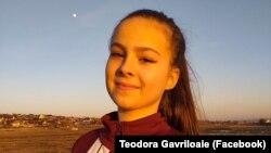 Teodora Agavriloaie a obținut nota 10 la admiterea la Facultatea de Medicină.