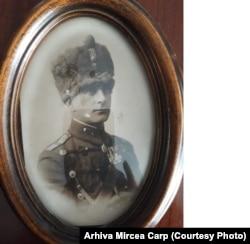 Colonelul Constantin Carp, tatăl lui Mircea Carp