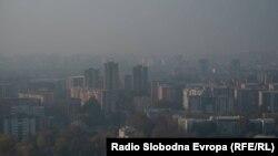 Аерозагадување во Скопје. 10.11.2020