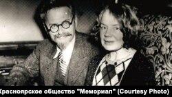 Лев Троцкий и Наталья Седова. 1930-е годы