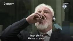 War Crimes Convict Dies After Drinking Liquid In Hague Court