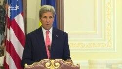 Керрі і Порошенко визначилися щодо імплементації мінських домовленостей (відео)