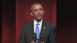 Vizita e parë e Obamas në një xhami