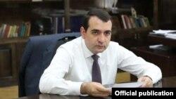 Armenia - Shirak Governor Hovhannes Harutiunian.