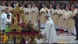 Божиќна порака на Папата Франциско
