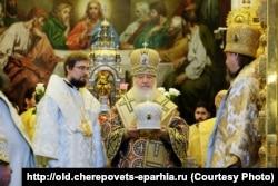 Патриарх Кирилл (в центре)