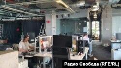 У московському бюро Радіо Свобода, 14 травня 2021 року