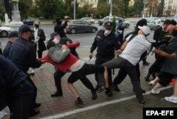 Задержания участников марша в Минске, 1 сентября 2020 года