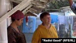 Нейла Азизова, яке аз олмониҳои муқими Тоҷикистон