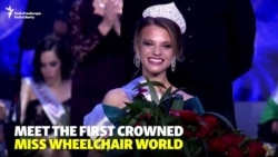 Belarusian Student Crowned First Miss Wheelchair World