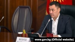 Who is behind Sadyr Japarov's sudden ascent to power in Kyrgyzstan?