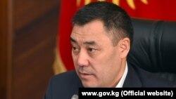 Премьер-министр и исполняющий обязанности президента Кыргызстана Садыр Жапаров.