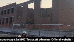 Строящаяся школа в Томске