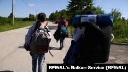 شماری از افغانها که کشور را برای رسیدن به اروپا ترک کرده اند